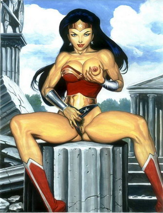 Those Women superheros naked photo