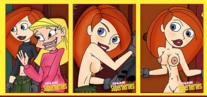 Nude superheroes – Kim Possible positive sex