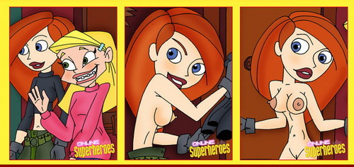 Nude superheroes &#8211; Kim Possible positive sex