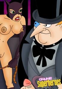Catwoman Femdom comics