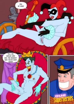 Sexy Villains - Joker Nude SuperHeroes