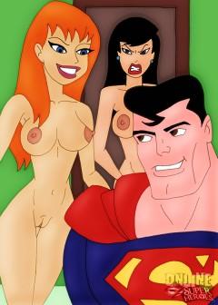 Superhero nude comix - Nude SuperHeroes Superman