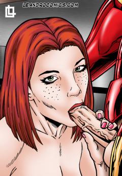 Iron Man fucks Pepper! - Iron Man Nude SuperHeroes