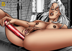 Sex with Storm - Nude SuperHeroes X-men
